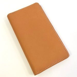 Fossil leather iPhone wallet